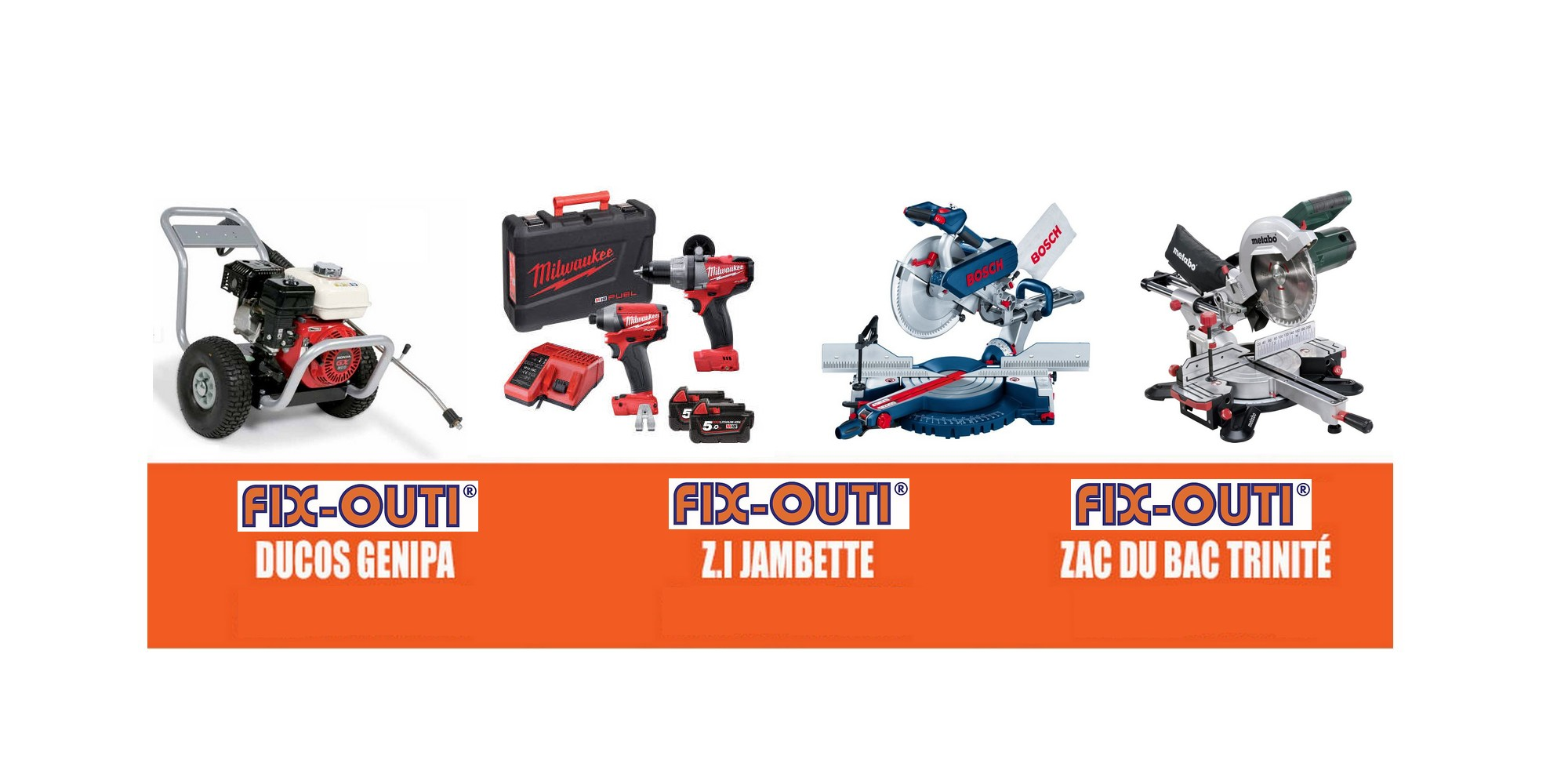 Fixouti | Outillage professionnel en Martinique et en Guadeloupe !